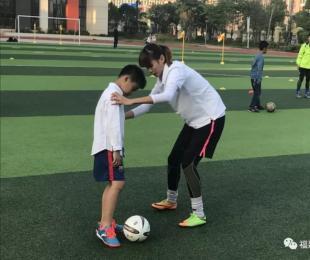 福建省足协青训中心开展教练员进校园活动